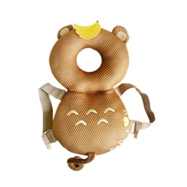 Bear Buckle Polyester and PP Cotton 1-Piece Golden Anti-Tumbling Toddlers Pillow