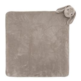 Crystal Velvet Fabric Comfortable Newborn Baby Square Blanket