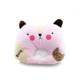 Baby Anti-flat Head Cat Shape Memory Foam Shaping Head Pillow