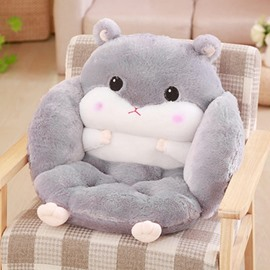 Lovely Style Hamster Shaped Soft Plush Throw Pillows