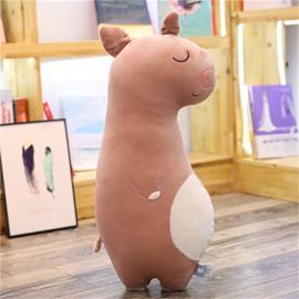 Cute Cartoon Animal Shape Funny Soft Plush Toy Throw Pillow