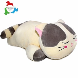 Funny Lazy Cat Shape Soft PP Cotton Throw Pillow/Plush Toy
