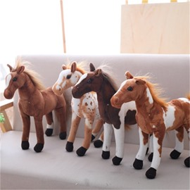 Cute Emulational Horse Shape Soft and Breathable Plush Baby