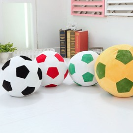Vivid Football Shape Soft and Breathable Plush Baby Toy