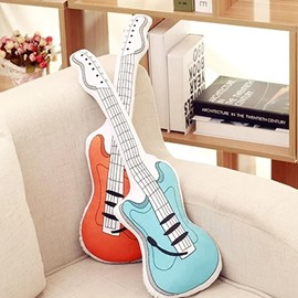 Classic Guitar Shape Soft and Breathable Plush Baby Toy