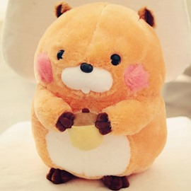 Cute Creative Hamster Soft and Breathable Plush Baby Toy