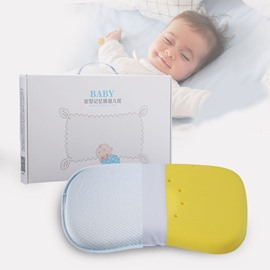 Baby Head Shaping Memory Foam Pillow Protection for Flat Head Syndrome