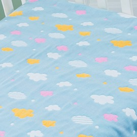 Cotton Baby Bed Sheet 6 Layer Gauze Breathable Soft Baby Products new New Born Bath Towel