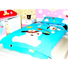 Darling Dog 3-Piece Cotton Bedding Sets