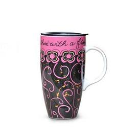 Fantastic Large Size Rouge Cane Vine Creative Mug