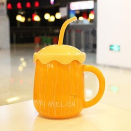 Top Quality Simple Hami Melon Pattern Creative Mug