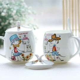 Wonderful 1-Couple of Ceramic Coffee Mug for Lovers