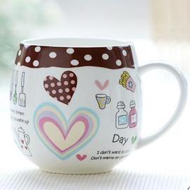 Cheap Coffee Bone China Coffee Mug for Girls