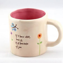 Wonderful Vanilla Yellow Small Size Coffee Mug