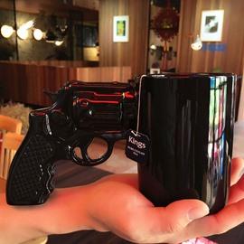 Pistol/Revolver Ceramic Heat-Resistance Coffee Mug