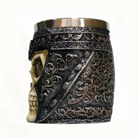Stainless Steel Skull Coffee Beer Mugs Halloween Gift