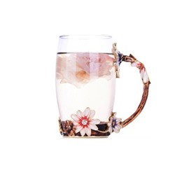 Creative and Fashion High Grade Enamel Tea or Coffee Decorative and Durable Cups
