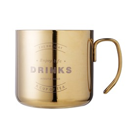 Nordic Style Ins Golden Stainless Steel Retro Coffee Mug