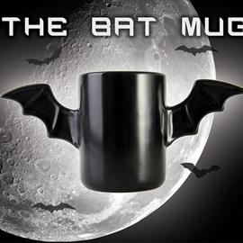 Bat Wings Black Ceramic Creative Gift Coffee Mug