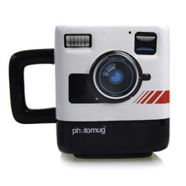 Creative Polaroid Camera Shape Ceramic Photo Coffee Mug