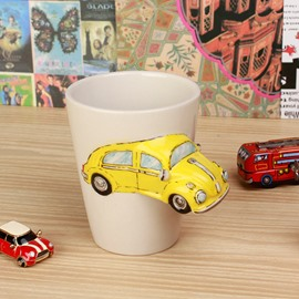 3D Vivid Car Unique and Insulated Coffee Mug with Handle