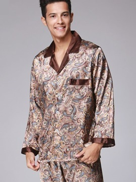 Men's Floral Luxury Style Design Comfortable Pajamas