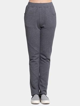 Stitching Crafts Pure Color Female Decorative Pants Cotton 100% Home Dress