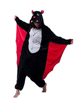 Animal Batman Cosplay Costume for Women&Men Adult Pajamas