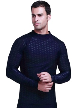 Black Color Surfing Round Neck Long Sleeve Men Wetsuit