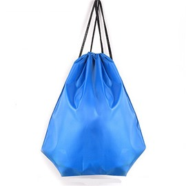 Durable Water-proof Pure Color for Man&Woman Blue Backpack
