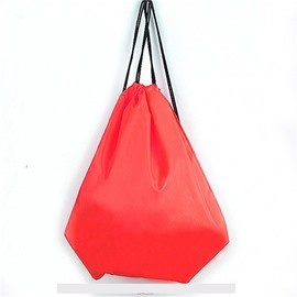 Durable Water-proof Pure Color for Man&Woman Red Backpack