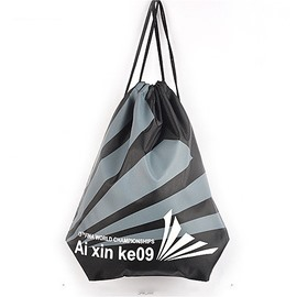 Durable Water-proof Black Stripe Pattern for Man&Woman Backpack