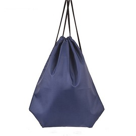 Durable Water-proof Pure Color for Man&Woman Navy Blue Backpack