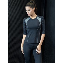 Simple Design Practical With Good Absorption of Perspiration Gym Suit
