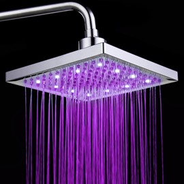 Creative Colorful LED Changing Color Shower Head Faucet