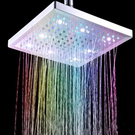 New Arrival Beautiful Colors-changing ABS Shower Head Faucet