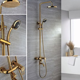 Top Selling High Quality Gold Shower Head Faucets