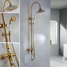 Top Selling Fantastic High Quality Gold Shower Head Faucet