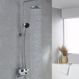 Top Selling High Quality Gorgeous Thermostatic Digital Display Shower Head Faucet