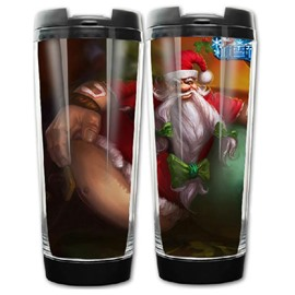 New Arrival Santa Claus Paper Jam Pattern Christmas Gift Cup