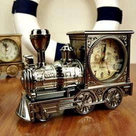 Nice Style and Good Decorative Train Pattern Alarm Clock