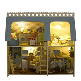 Special Novelty Design with Sound Control Musical DIY House