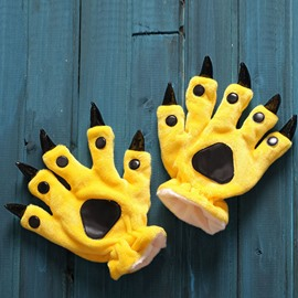 High Quality Cozy Fashion Adorable Animal Paw Gloves