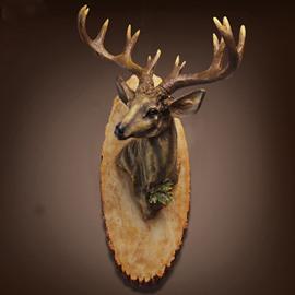 New Arrival Stunning Creative Buck Deer Wall Hanging