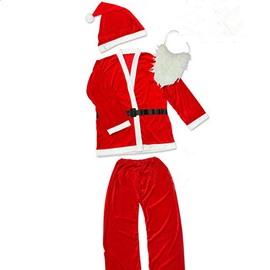 Pretty Festival Christmas Santa Claus Cloth for Men