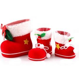 Candy Box Fleece Sock Hanging Decor Christmas Tree Decor