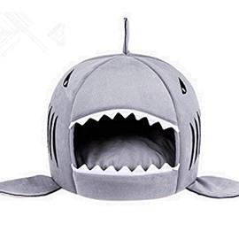 Shark Design Soft Waterproof Bottom For Small Dog&Cat Bed