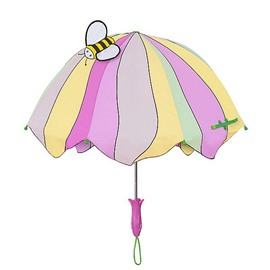 Lovely Solid Bee Pattern Unique Style Personal Umbrella