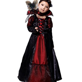 Vivid Halloween Style Cosplay Child Vampire Costume