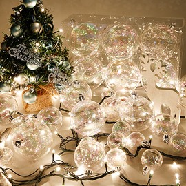 Pretty Festival 60mm Christmas Tree Decoration Balls